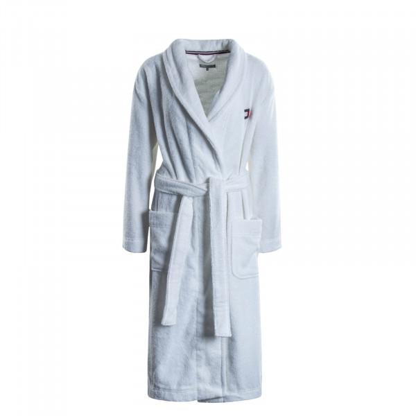 Damen Bademantel Robe 2325 White