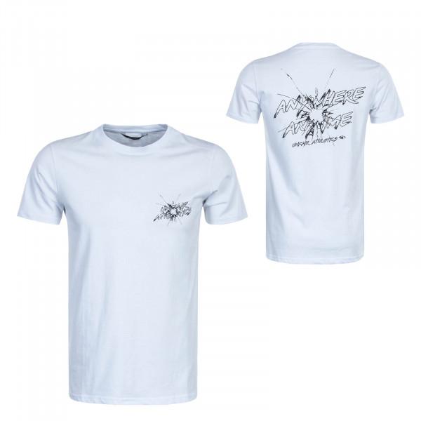Herren T-Shirt  Anywhere Anytime White