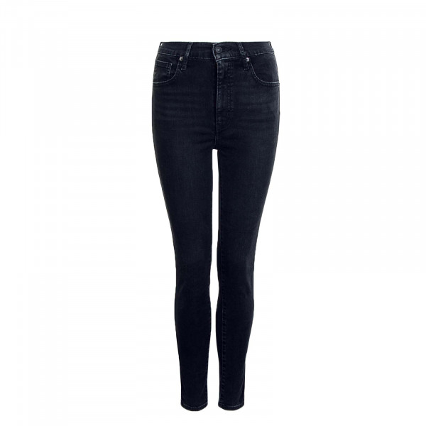 Damen Hose Mile High Super Skinny Black Haze