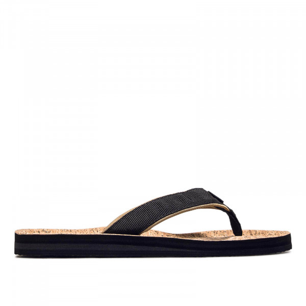 Herren Slide Chad Structure Black Beige