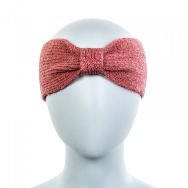Damen Stirnband Only Knit Tessi Dusty Rose