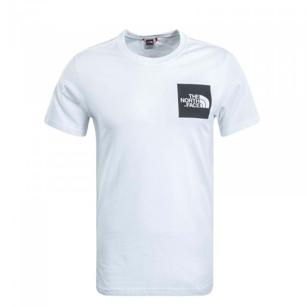 Herren T-Shirt Fine White