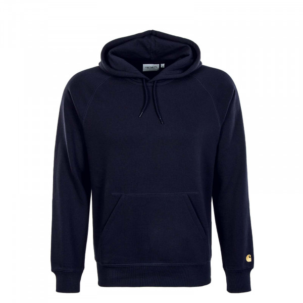 Herren Hoody - Chase Sweat - Dark / Navy / Gold