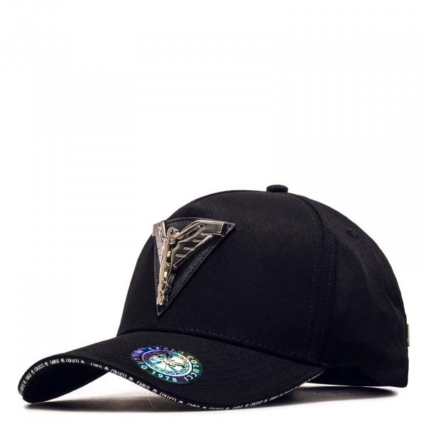 Cap - 3D Ikarus-Plakette - Black