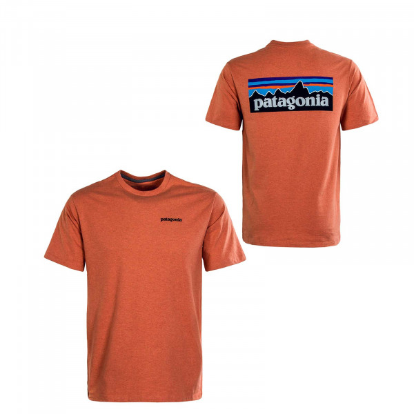 Herren T-Shirt - P-6 Logo  Responsibili - Coho Coral