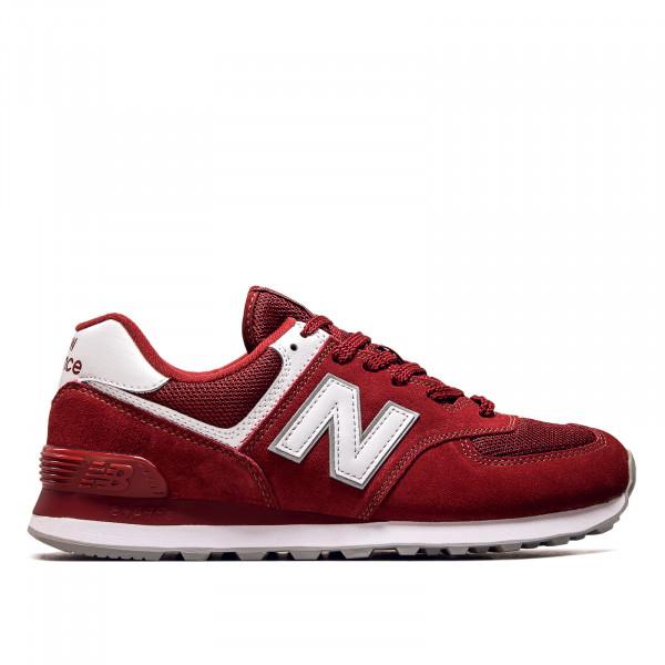 Herren Sneaker - ML574 ER2 - Scarlet / White