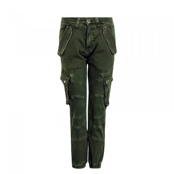 Herren Cargo - Pant Combat - Dark / Olive