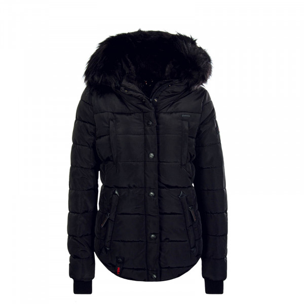Damen Jacke Lotusblüte Black