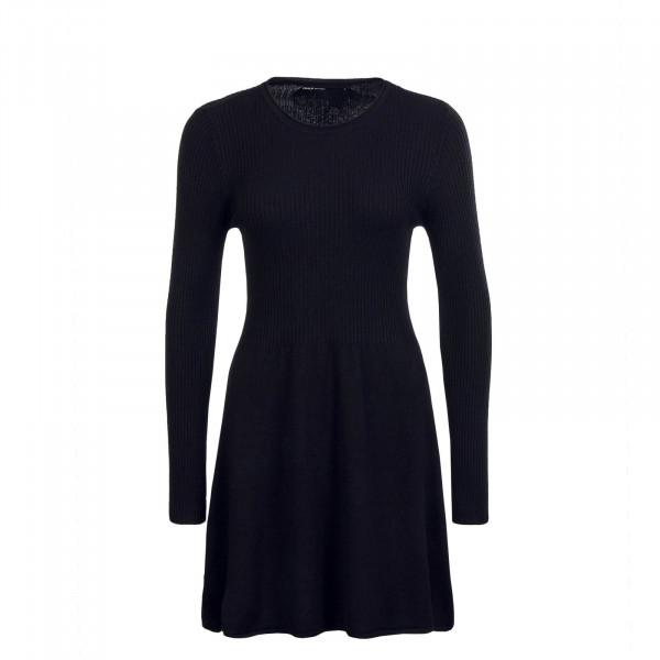 Dress Knit Alma LS Black