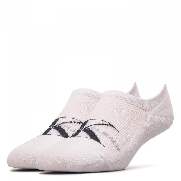 Socken Liner 1869 White Black