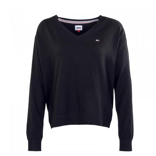 Damen Sweatshirt - TJW V-Neck - Black