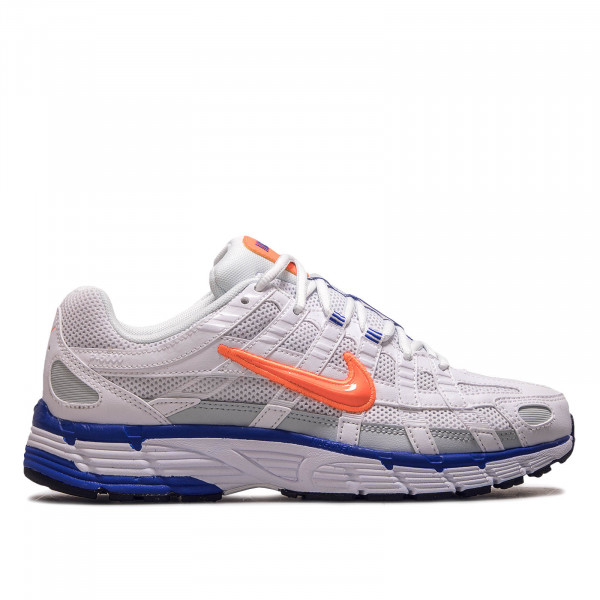 Unisex Sneaker P-6000 White Orange Blue