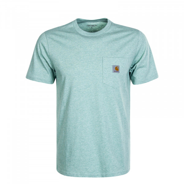 Herren T-Shirt Pocket Zola Green