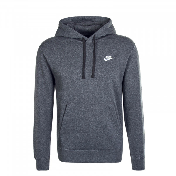 Herren Hoody Club NSW Charcoal White