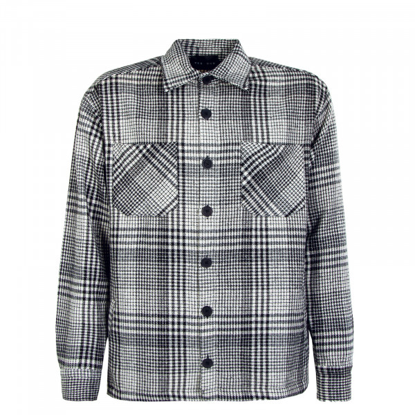 Flato Heavy Flannel Shirt Earth Black