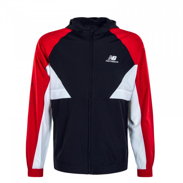 Herrenjacke MJ03502 43 Athletics Podium Red Black White