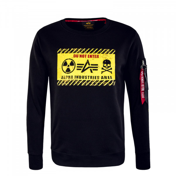 Herren Sweat - Radioactive - Black