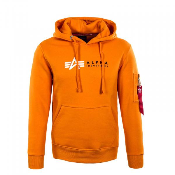 Herren Hoody - Alpha Label - Orange