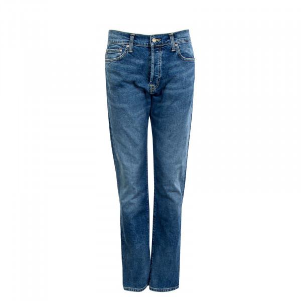 Herren Jeans - Klondike Pant Blue Mid - Used Wash