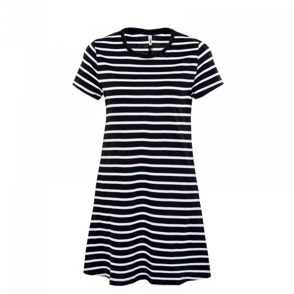 Damen Kleid - May Life Pocket - Black / Stripes