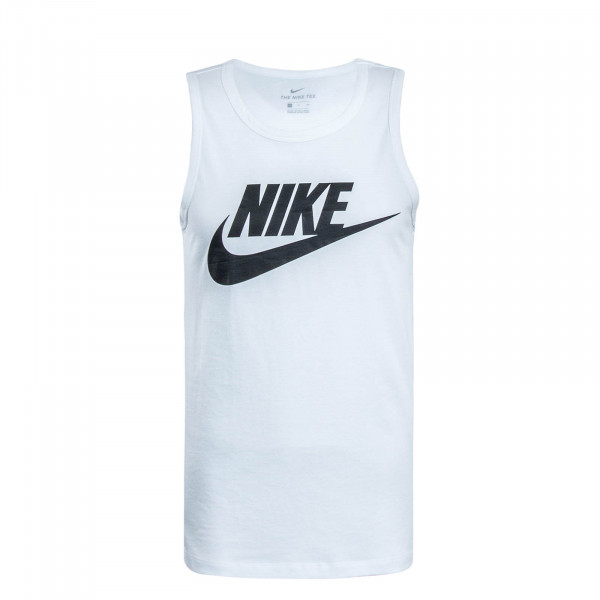 Herren Tank Top Icon Futura White Black
