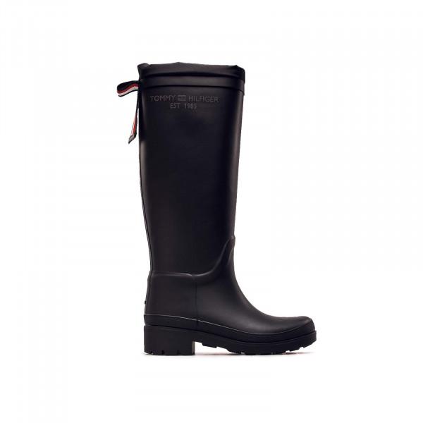 Damen Stiefel - Overknee Rainboot - Black
