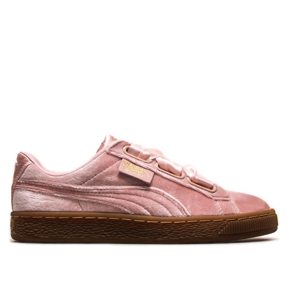 Puma Wmn Basket Heart VS Pink Gold