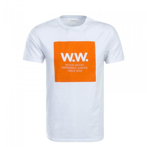 Wood Wood TS WW Square White Orange