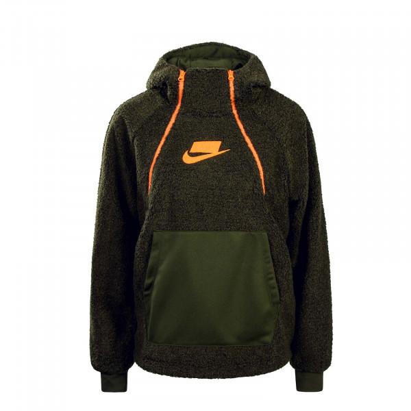 Nike Wmn Hoody BSW NSP Olive Orange