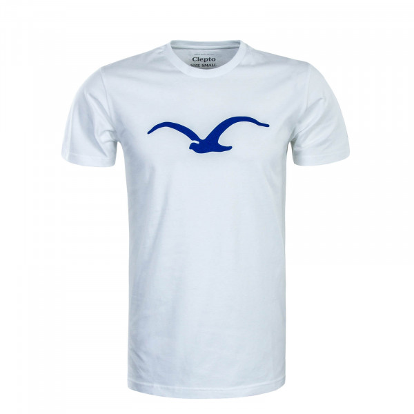 Herren T-Shirt Möwe White Royal