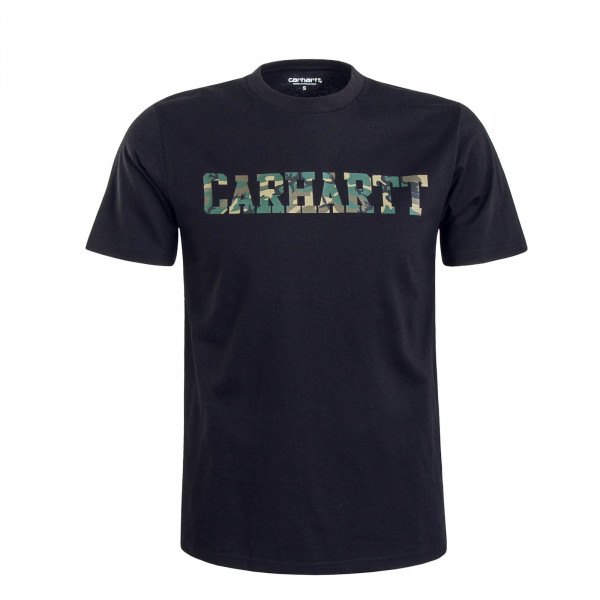 Herren T-Shirt College Black Camo