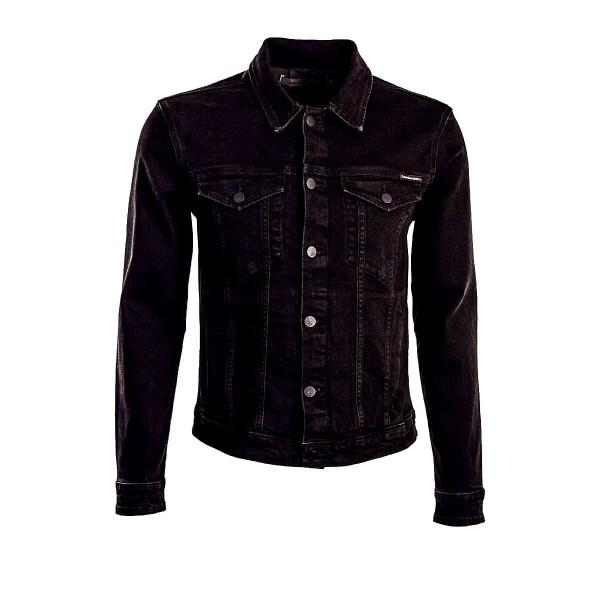 CK Jeans Jkt Classic Ric Rich Black