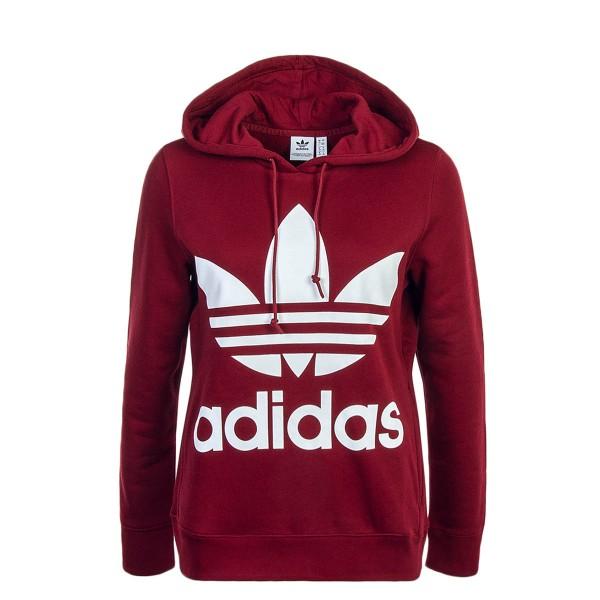 Adidas Wmn Hoody Trefoil Bordeaux