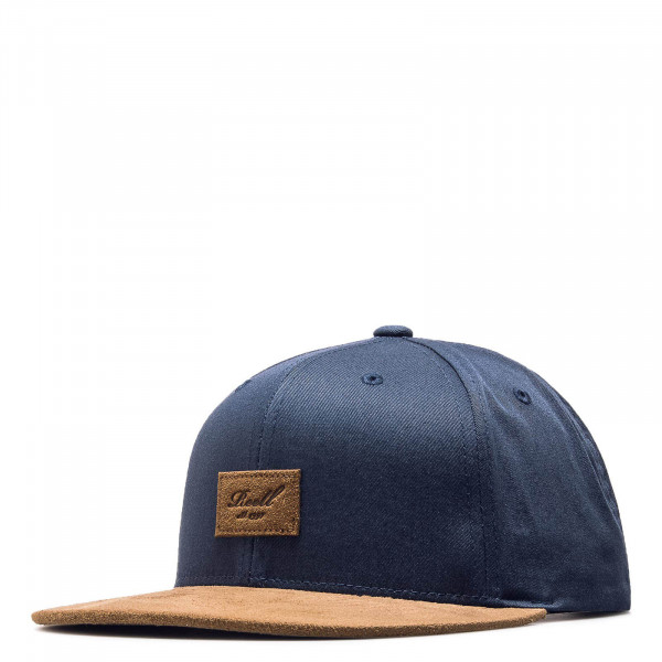 Reell Cap Suede Navy Brown