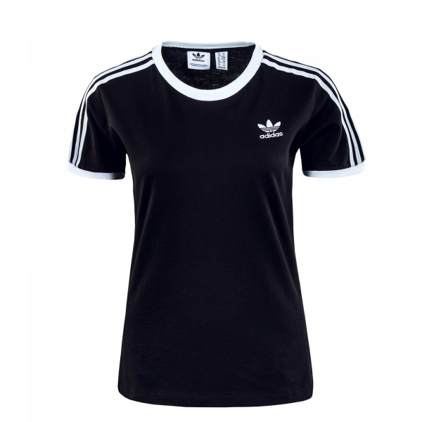 Damen T-Shirt - 3 Stripes - Black