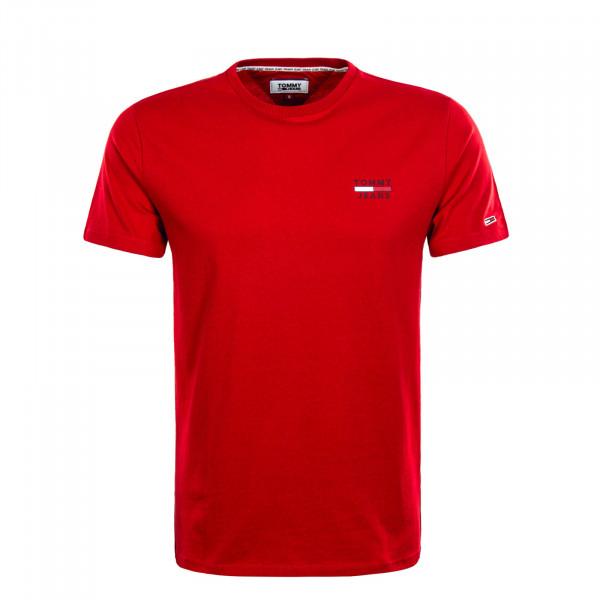 Herren T-Shirt 7472 Chest Logo Red