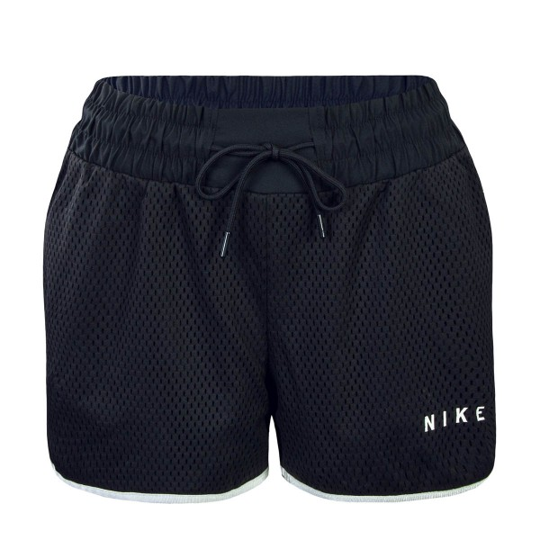 Nike Wmn Short NSW Mesh Black Lt Bone