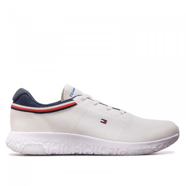 Herren Sneaker - Lightweight Knit Runner Collar 3614 - White