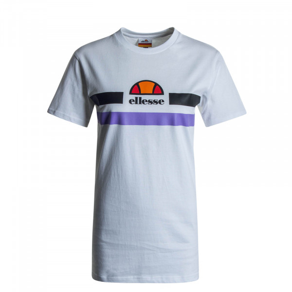 Damen T-Shirt Lattea White Purple