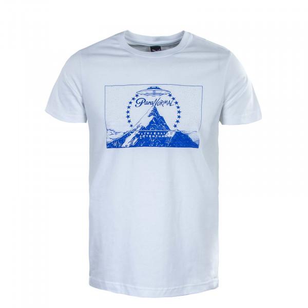 Herren T-Shirt - Paraventure Tee - White