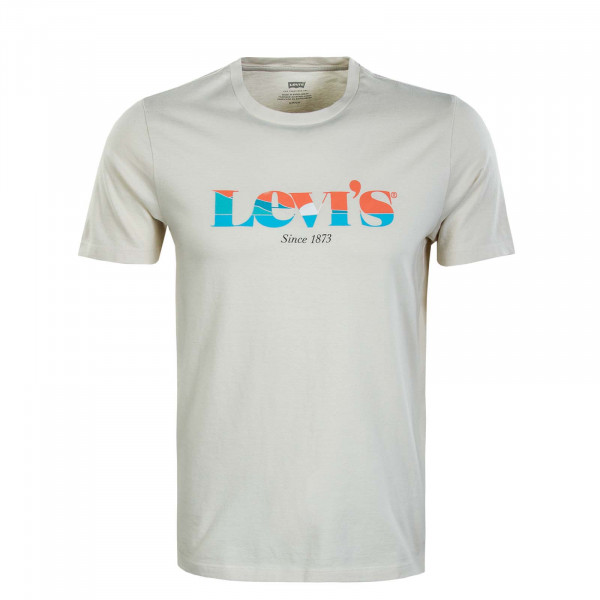 Herren T-Shirt - Graphic Crewwneck MV SSNL Logo - Oatme