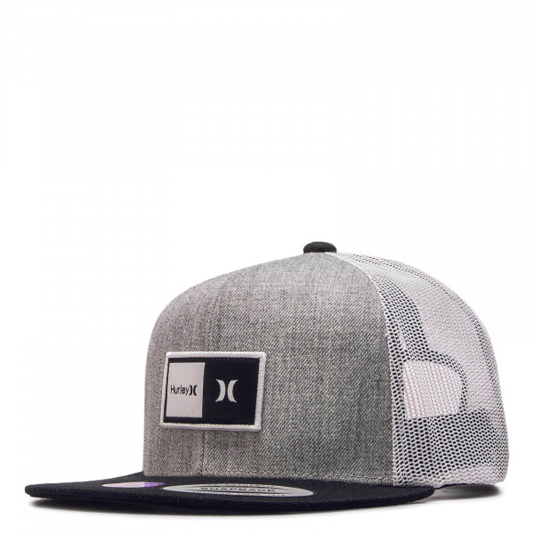 Trucker-Cap B Natural Grey Black