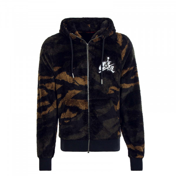 Herren Jacke  Wings Black Camouflage