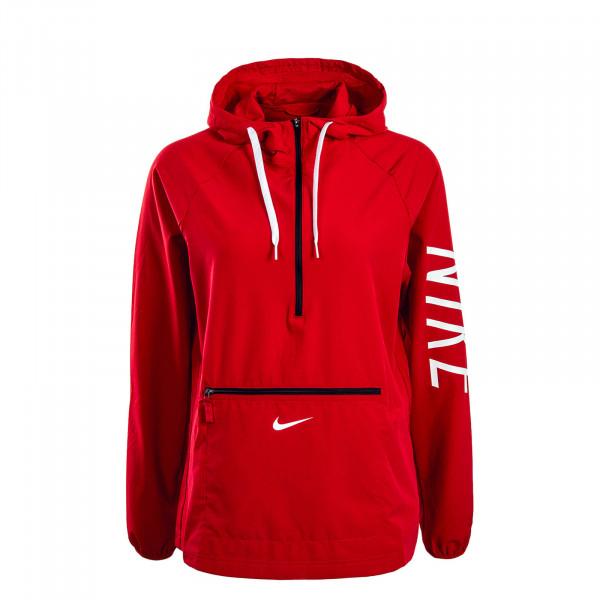 Nike WMN Jkt Hooded Breaker Gym Red