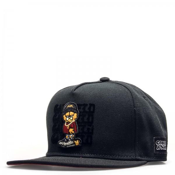 C&S Cap Merch Garfield Black
