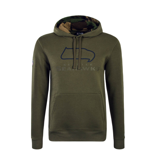 New Era Hoody NFL Seasea Olive Camo