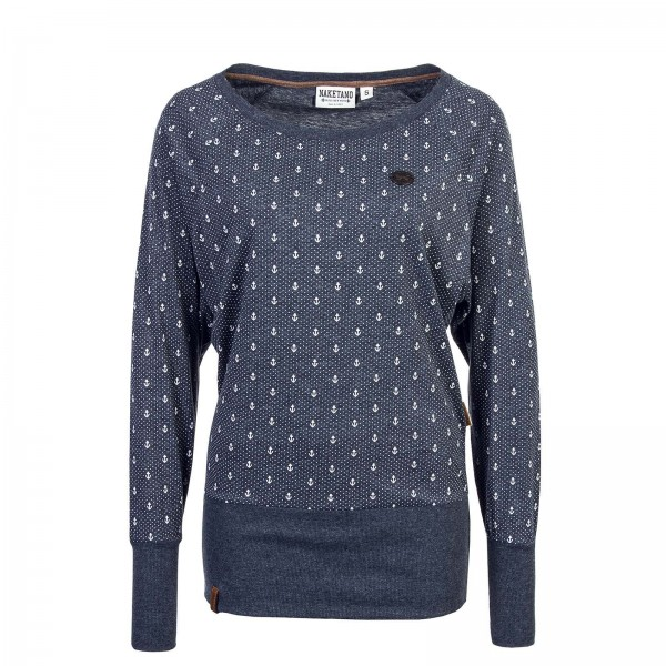 Naketano Wmn Sweat Hodenschmerzen Navy