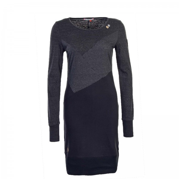 Ragwear Wmn Dress Viola Grey