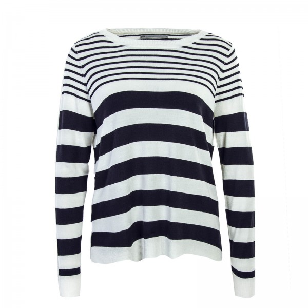 Only Knit Mila Stripe Beige Navy