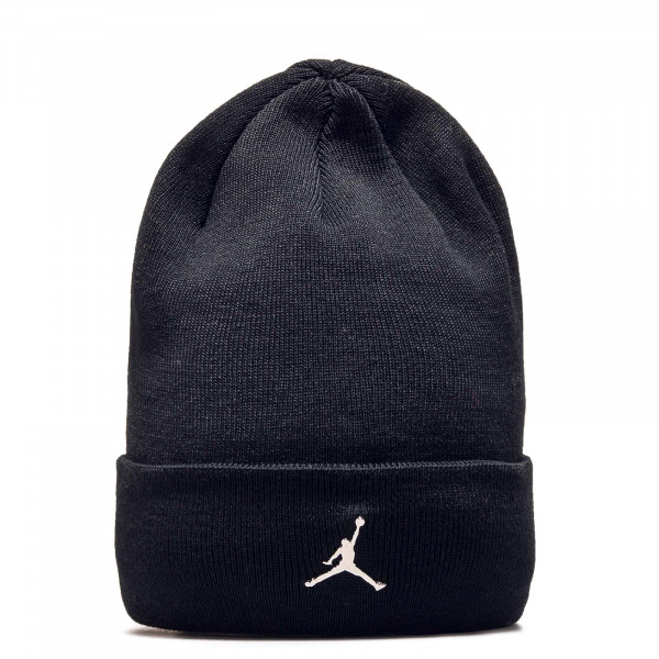 Jordan Beanie Cuffed Black
